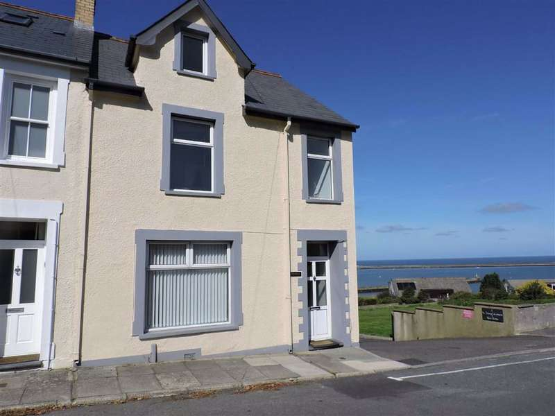 5 Bedrooms End Of Terrace House for sale in Windy Hall, Heol Dewi, Fishguard