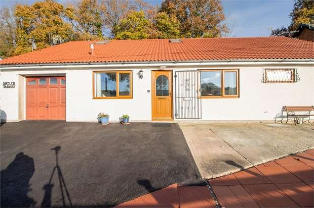 4 Bedrooms Detached Bungalow for sale in Woodfieldside, Woodfieldside, Blackwood, Caerphilly