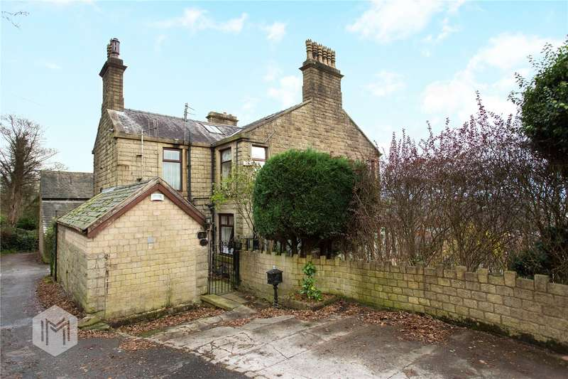4 Bedrooms Semi Detached House for sale in Little Holcombe, Lumb Carr Road, Holcombe, Bury, BL8