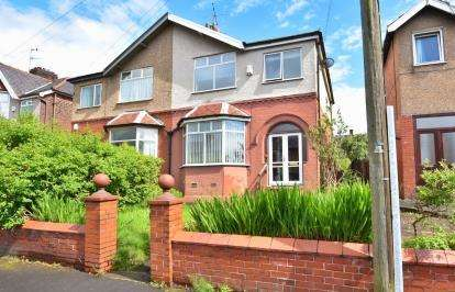 3 Bedrooms Semi Detached House for sale in Brownhill Road, Blackburn, Lancashire, ., BB1