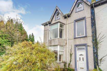 4 Bedrooms Semi Detached House for sale in Rhostryfan, Caernarfon, Gwynedd, LL54