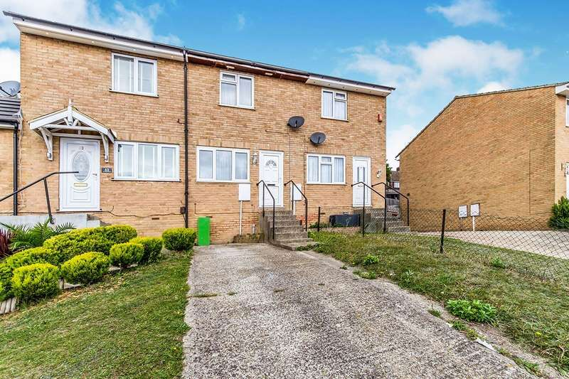 2 Bedrooms House for sale in Shanklin Close, Chatham, Kent, ME5