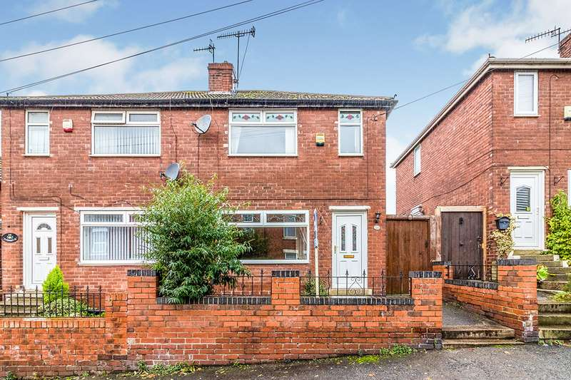 2 Bedrooms Semi Detached House for sale in Claremont Street, Kimberworth, Rotherham, South Yorkshire, S61