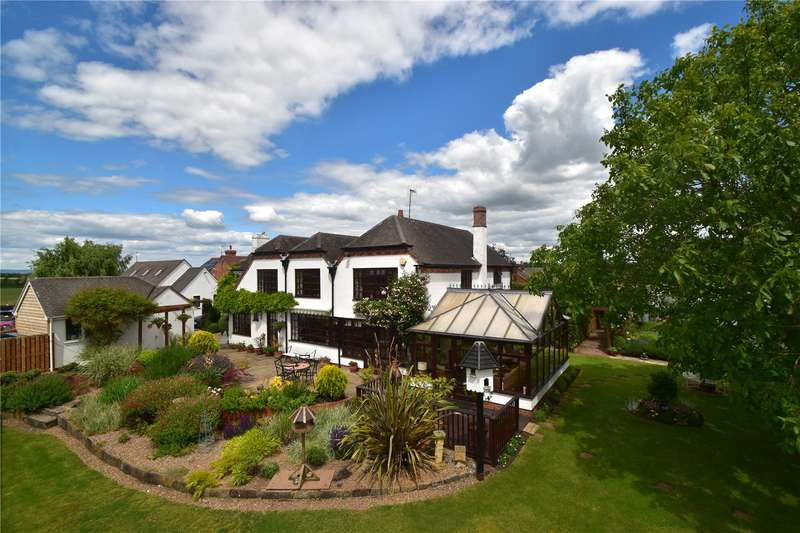 5 Bedrooms Detached House for sale in Foredraught Lane, Tibberton, Droitwich Spa, Worcestershire