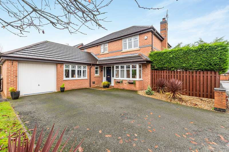 4 Bedrooms Detached House for sale in Kennington Park, WIDNES, Cheshire, WA8