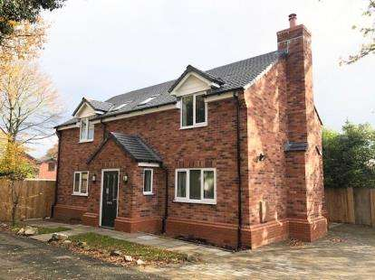 4 Bedrooms Detached House for sale in Old Butterton Lane, Oakhanger, Crewe, Cheshire
