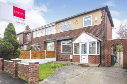 3 Bedrooms Semi Detached House for sale in The Quadrant, Offerton, Stockport, Cheshire