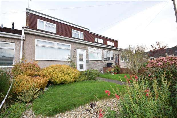 2 Bedrooms Terraced Bungalow for sale in Colston Close, Soundwell, Bristol, BS16 4PQ