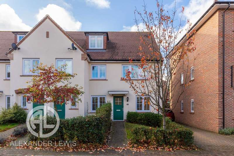 2 Bedrooms End Of Terrace House for sale in Lindsell Avenue, Letchworth, SG6 4DQ