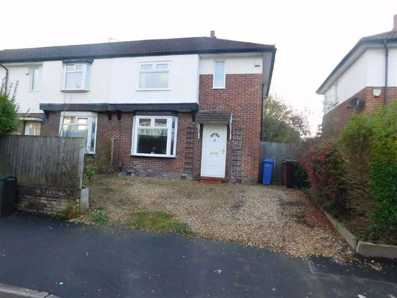 2 Bedrooms Semi Detached House for sale in Forbes Road, Offerton, Stockport