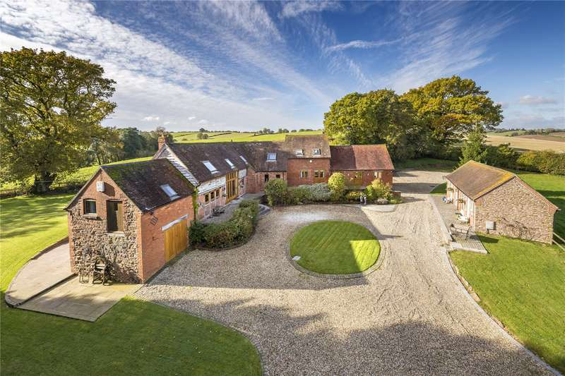 4 Bedrooms Barn Conversion Character Property for sale in Upper Norchard Barn, Netherton Lane, Dunley, Stourport-On-Severn, Worcestershire, DY13