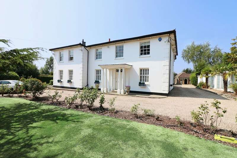 6 Bedrooms Detached House for sale in Stapleford Road, Stapleford Abbotts, RM4
