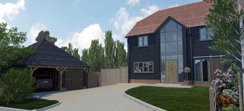 4 Bedrooms Semi Detached House for sale in Plot 6 Thornhill Gardens, Bapchild