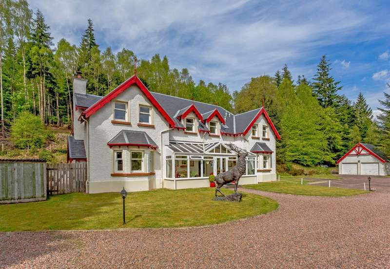 5 Bedrooms Detached House for sale in Glen Albyn Lodge, Invergarry, Inverness-Shire, PH35