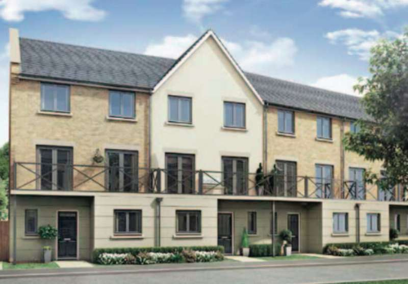 4 Bedrooms Terraced House for sale in Plot 136 The Worcester, Priors Hall Park