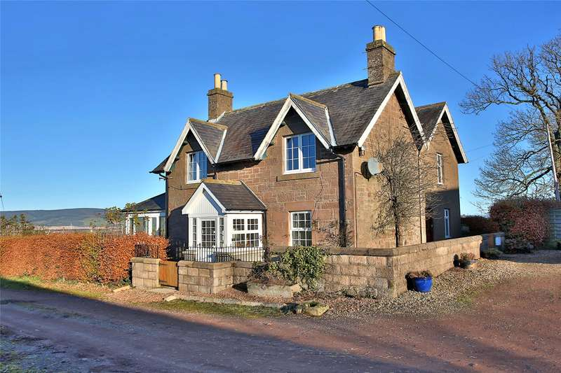 4 Bedrooms Detached House for sale in Johnston Mains Farmhouse, Laurencekirk, Aberdeenshire, AB30