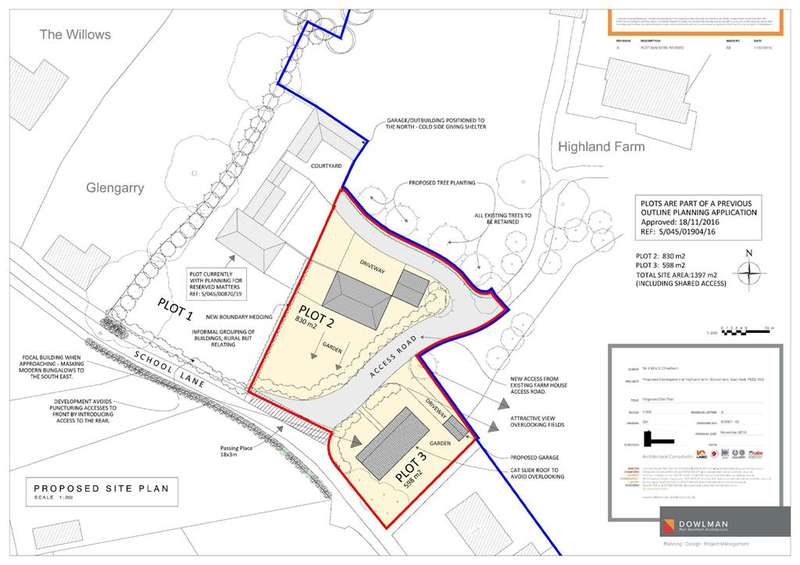 1 Bedroom Land Commercial for sale in Plot 2 School Lane, East Keal, Spilsby, PE23 4AU