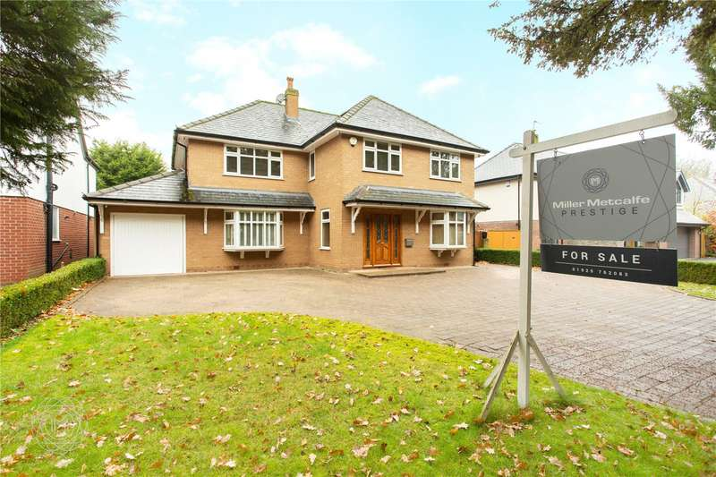 4 Bedrooms Detached House for sale in Culcheth Hall Drive, Culcheth, Warrington, WA3