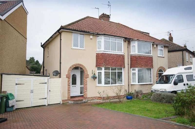3 Bedrooms Semi Detached House for sale in Fouracre Road, Downend, Bristol, BS16 6PE