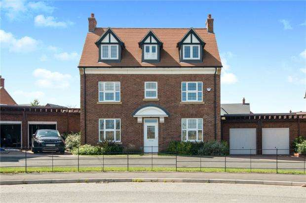5 Bedrooms Detached House for sale in Dovey Close, Copcut, Droitwich