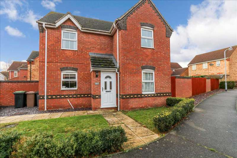 3 Bedrooms Detached House for sale in Blacksmith Court, Metheringham, Metheringham, Lincoln