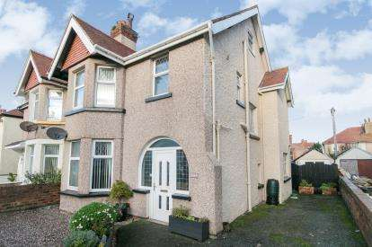 3 Bedrooms Semi Detached House for sale in Bryniau Road, Llandudno, Conwy, North Wales, LL30