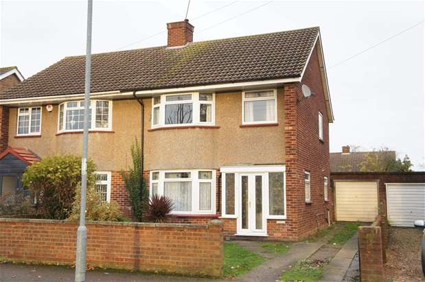 3 Bedrooms Semi Detached House for sale in The Ridgeway, Bedford