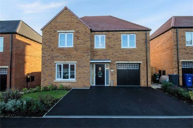 4 Bedrooms Detached House for sale in Cygnet Drive, Mexborough, South Yorkshire