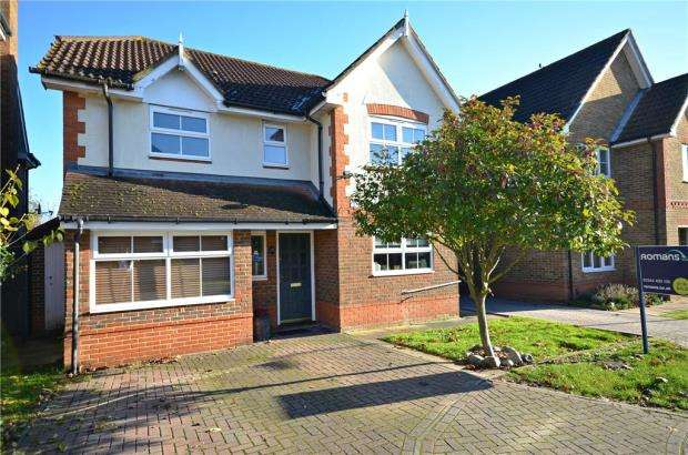 4 Bedrooms Detached House for sale in Gloucestershire Lea, Warfield, Bracknell