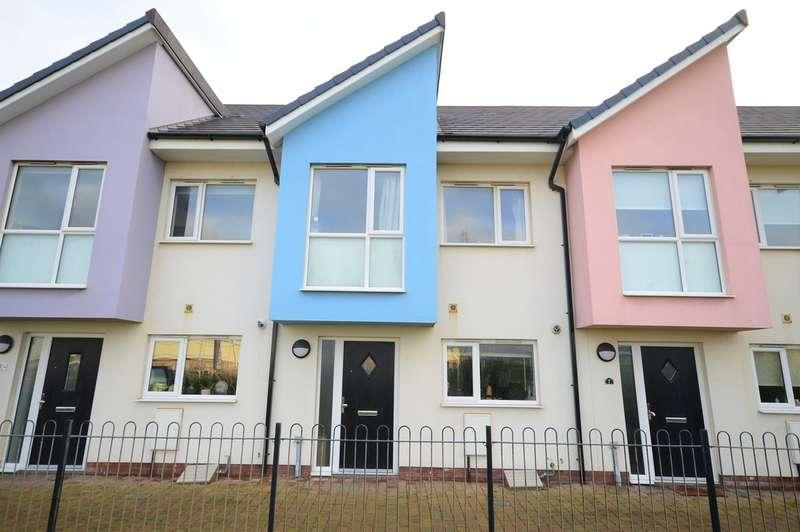 3 Bedrooms Terraced House for sale in Garrett Gardens, Foxhall Village