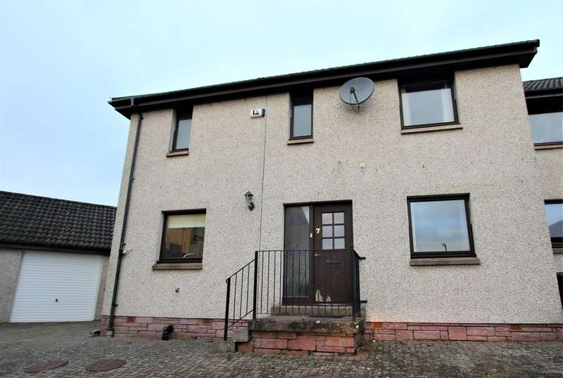 3 Bedrooms Semi Detached House for sale in Silver Button Yard, Dundee DD4