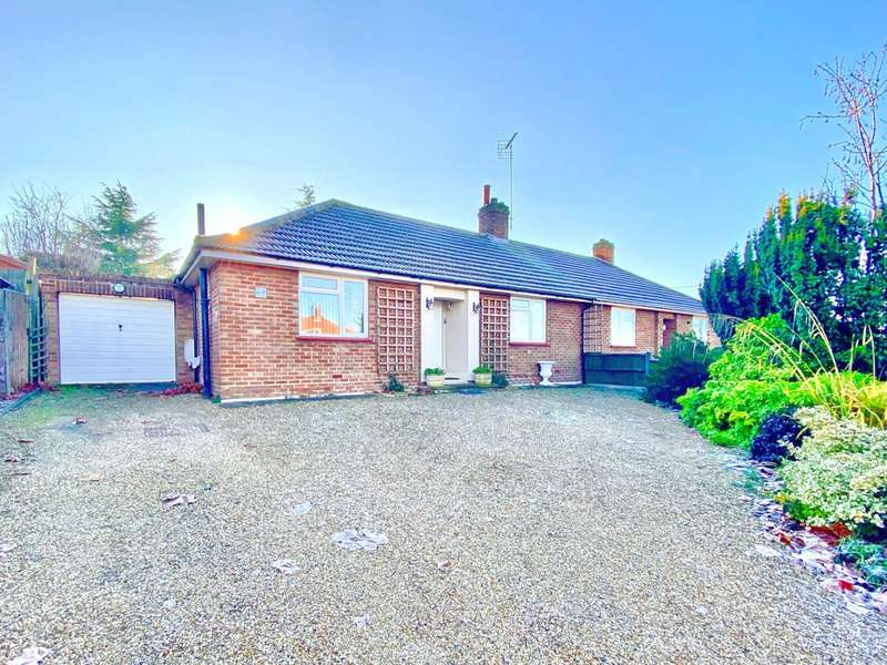 2 Bedrooms Semi Detached Bungalow for sale in Granville Road, Hitchin, Hertfordshire, SG4