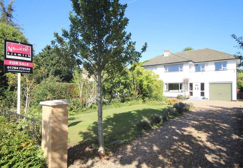 3 Bedrooms Semi Detached House for sale in Chertsey Lane, Staines-upon-Thames, TW18