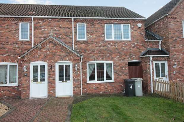 3 Bedrooms Town House for sale in Oaktree Meadow, Horncastle, Lincolnshire, LN9 5PG