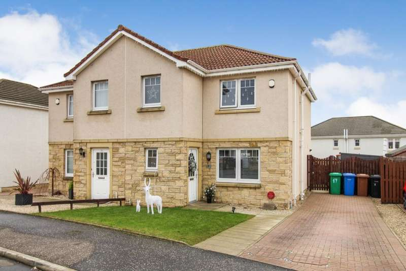3 Bedrooms Semi Detached House for sale in Rosemount Grove, Leven, KY8