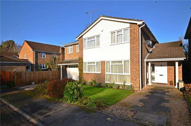 5 Bedrooms Detached House for sale in Gainsborough Drive, Ascot, Berkshire