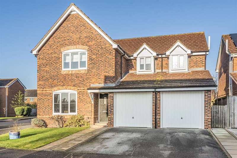 4 Bedrooms Detached House for sale in Snowdrop Garth, Holme-on-Spalding-Moor, York, YO43 4DW