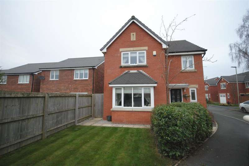 4 Bedrooms Detached House for sale in Almond Pastures, Standish, Wigan