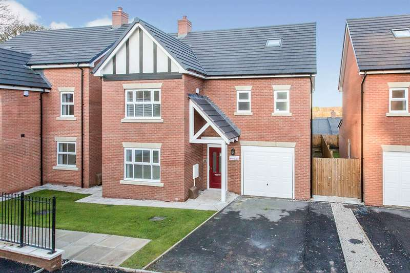 5 Bedrooms Detached House for sale in Forge Lane, Congleton, Cheshire, CW12