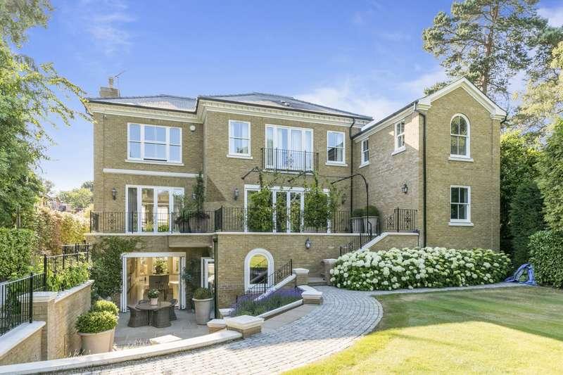 5 Bedrooms Detached House for sale in Beechwood Avenue, Weybridge, KT13