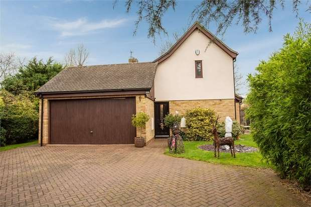 4 Bedrooms Detached House for sale in Allens Orchard, Brampton, Huntingdon, Cambridgeshire