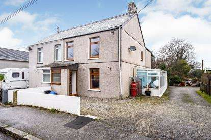 3 Bedrooms Semi Detached House for sale in St. Columb Road, St. Columb, Cornwall