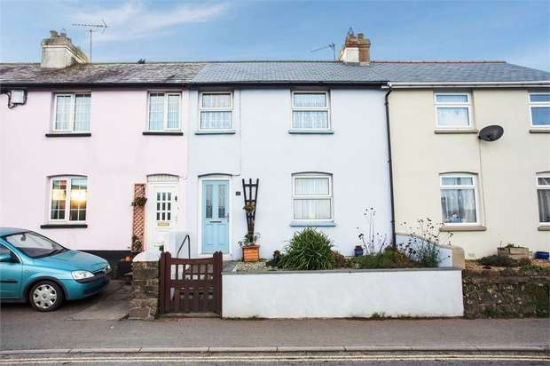 3 Bedrooms Terraced House for sale in Hillhead, Stratton, Bude, Cornwall