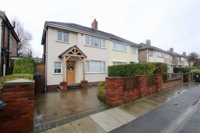 3 Bedrooms Semi Detached House for sale in Hartdale Road, Liverpool, L23