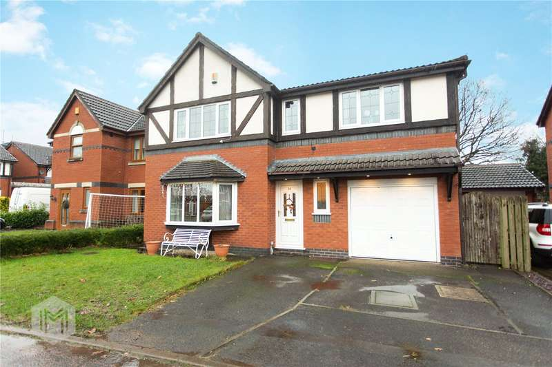 4 Bedrooms Detached House for sale in Orchard Close, Euxton, Chorley, Lancashire, PR7