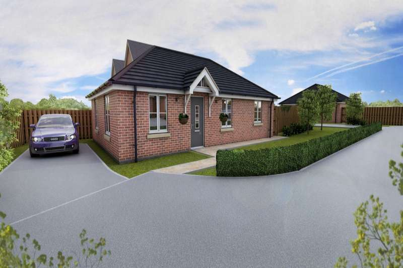 3 Bedrooms Detached Bungalow for sale in Off Warren Walk, Royston, Barnsley, South Yorkshire, S71