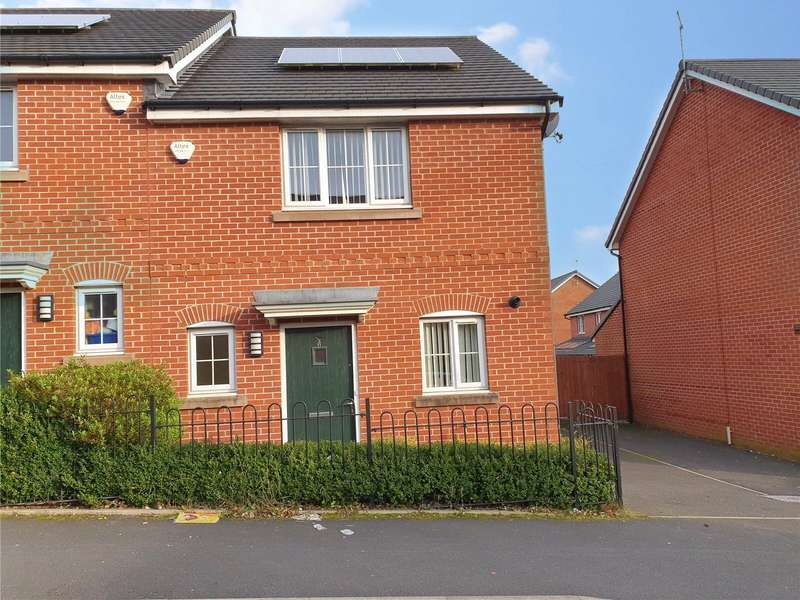 3 Bedrooms Semi Detached House for sale in Somersby Street, Hathershaw, Oldham, Greater Manchester, OL8
