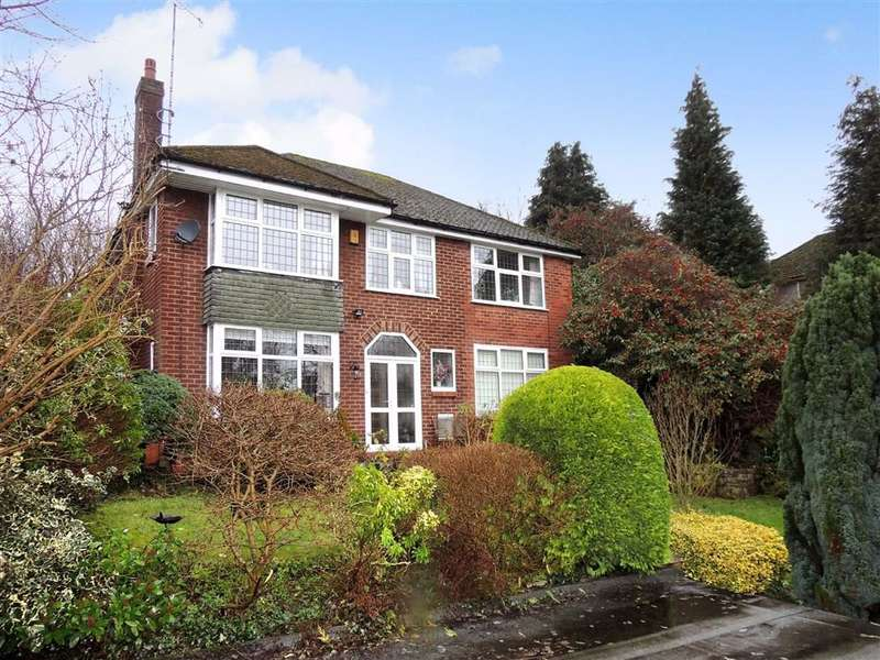 5 Bedrooms Detached House for sale in Bunkers Hill, Romiley, Stockport