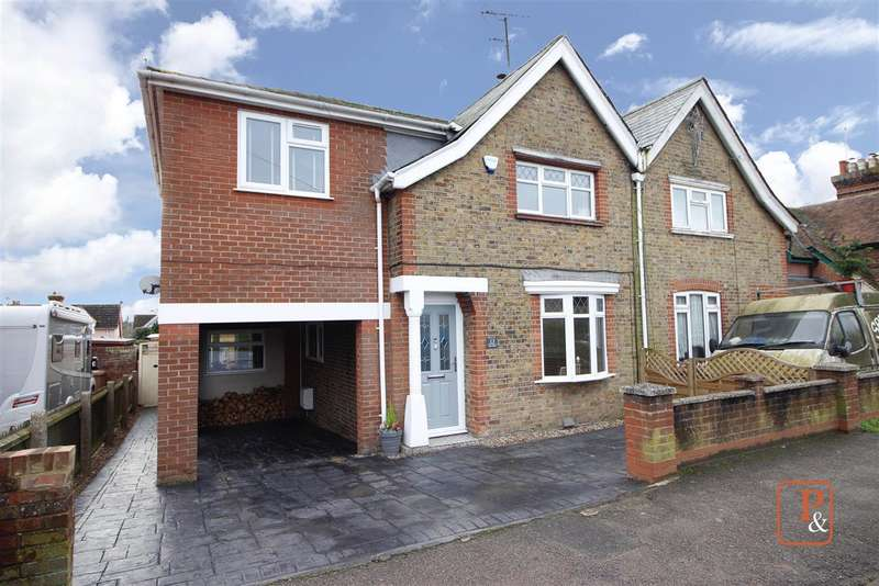 4 Bedrooms Semi Detached House for sale in New Village, Brantham