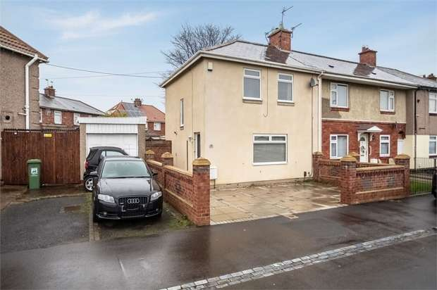 3 Bedrooms End Of Terrace House for sale in Waverley Terrace, Hartlepool, Durham